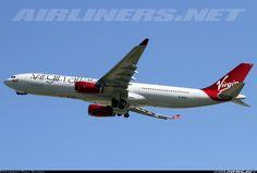 Virgin Atlantic Airways G-VRAY Airbus A330-343X