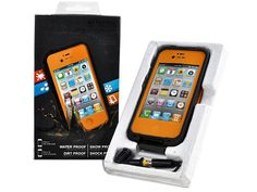 Orange LifeProof Case for the iPhone 4/4S - $28.00