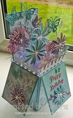 Butterfly box card                                                                                                                                                                                 More