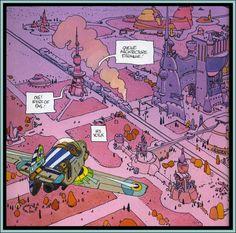 Cap'n's Comics: Mo Moebius