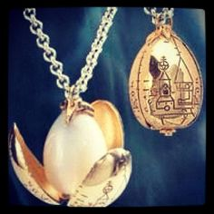 Tri-wizard cup egg necklace Awesome!!!