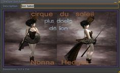 Virtually Classic Fashion: Cirque Du Soleil From Nonna Hedges