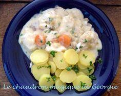 Blanquette de poisson blanc WW au Thermomix - Le chaudron magique