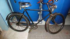 Sehr alten restauriertes Fahrrad | Mit Karbid Lampe | Torpedo Weilwerke