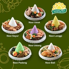Ideas for wedding food platters snacks Asian Platters, Food Platters, Catering Food, Food Menu, Canapes Recipes, Indonesian Cuisine, Indonesian Recipes, Food Displays, Daily Meals