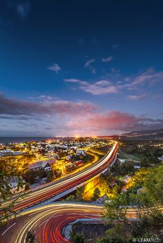 Saint Paul by Gaby Barathieu on Underwater Photography, Artistic Photography, Highway Road, Small Planet, Public Transport, City Life, New Zealand, Paths, Images
