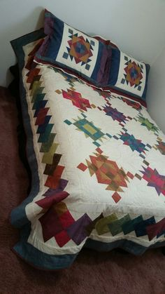 Pillow Shams to match quilt finished
