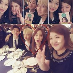 Jackji were sitting next to each other.. At joonhyung's wedding.. #jackji #jackson #youngji #gukjoo #henry