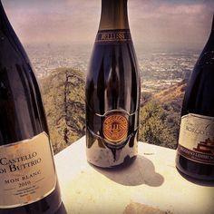 3 Kings towering over LA: Prosecco Bellussi, Mon Blanc Castello di Buttrio, Lambrusco Rosato Borgo del Boiardo. Get them all at vino-direct.com Ambre, 3, Wines, Label, Bottle, Flask, Jars