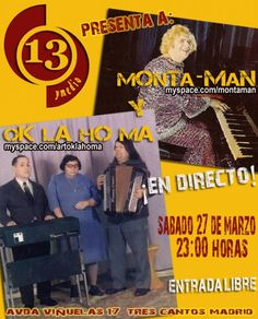 Cartel Concierto Ok La Ho Ma