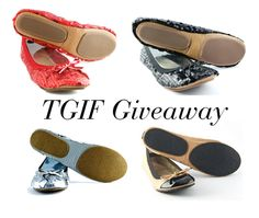 Want a pair of rollable flats from Fit in Clouds? Enter our TGIF Giveaway!