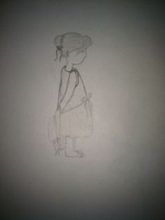 Little girl i tried to draw