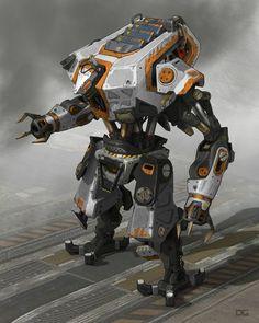 ArtStation - Titanfall 2 Reaper, Danny Gardner