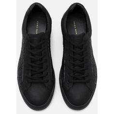 Zara Sneakers With Quilted Detail ($20) ❤ liked on Polyvore featuring men's fashion, men's shoes, men's sneakers and zara men shoes