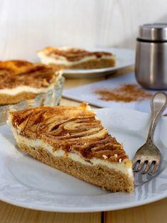 Tvarohové řezy se skořicovou polevou Healthy Cake, Healthy Cookies, Healthy Baking, Baking Recipes, Cookie Recipes, Sweet Cooking, Czech Recipes, Sweet Tarts, Cheesecake Recipes
