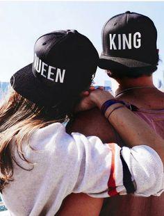 home of king & queen | PACK GORRAS KING Y QUEEN VISERA PLANA SNAPBAKCS| GORRAS Y ACCESORIOS
