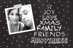 #kerst #kaart #kerstkaart #xmas #merry #christmas #fuif #happy #new #year #fijne #feestdagen #foto #fotokaart #kerstboom #typografie #stippen #grijs #wit #ster #kerstster