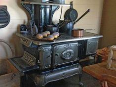 angol vidéki konyha sparhelt