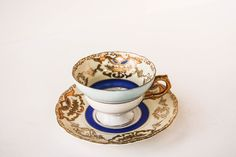 Antique Royal Sealy tea cup and saucer.