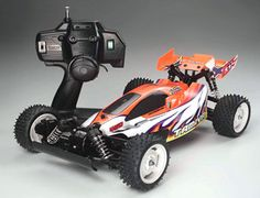 The Tamiya XB Rising Storm 4WD Buggy in 1/10 scale is the latest addition to the range of Tamiya Expert Built off road electric radio control cars.