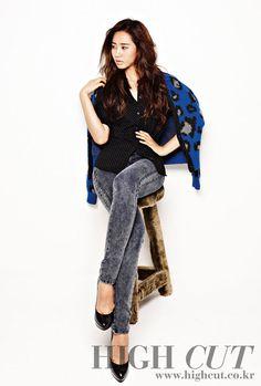 SNSD Yuri High Cut Magazine