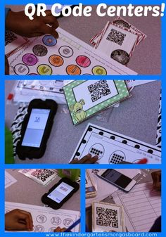 Qr Codes For Meeting Common Core Standards During Math And Literacy Center Time