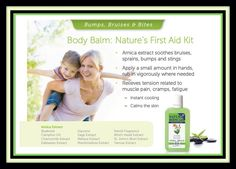 Body balm has been such a huge help these summer months! Try it at www.herbalspamama.com