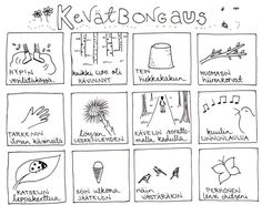 Kevät bongaus lapset metsä retki Teaching Aids, Teaching Kindergarten, Nature Activities, Preschool Activities, Finnish Language, Environmental Education, Spring Art, French Lessons, Early Education
