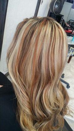 Copper blondes