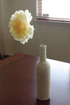Gorgeous paper flowers made from dyed coffee filters! These are stunning and so simple and inexpensive to make!