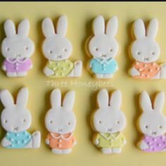 Wow, these Miffy cookies are beautiful!