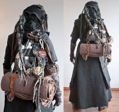 This is such a great LARP costume! Apocalyptic Clothing, Post Apocalyptic Costume, Post Apocalyptic Fashion, Larp, Apocalypse Fashion, Post Apocalypse, Apocalypse Survival, Marla Singer, Steampunk Accessoires