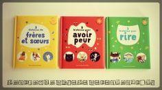 Livre enfants - 3 histoires de frères et soeurs - pour avoir peur - pour rire - Editions Gallimard Jeunesse
