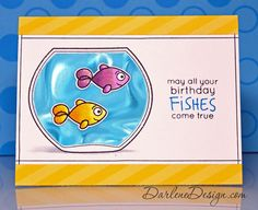 Simon Says Clear Stamps BEST FISHES sss101424 This is the Life zoom image