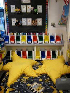 I really love Mrs. Wallbank's movie themed classroom!