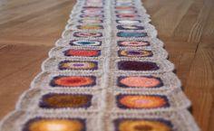202040Caminho de mesa de crochê: 35 peças para te inspirar e modelos passo a passo Crochet Table Runner, Manta Crochet, Table Runners, Diy And Crafts, Blanket, Rugs, Knitting, 35, Home Decor