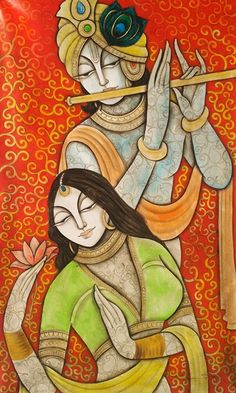 We have listed top indian paintings and artworks for your inspiration. If you live in india and have a passion for art history, it's time you checked out the Ajanta and Ellora caves, where the first Indian Artwork, Indian Folk Art, Indian Art Paintings, Indian Artist, Modern Indian Art, Kerala Mural Painting, Madhubani Painting, Zantangle Art, Mural Art