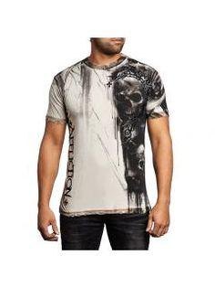 Men's T-Shirt Affliction Walking Dead