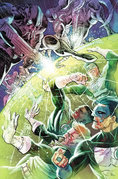 HAL JORDAN & THE GREEN LANTERN CORPS #35