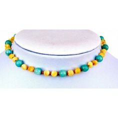 """Luxury Baltic Amber and Amazonite Baby RAW Teething Necklace Rounded Beads -- """"It´s A Boy"""""""