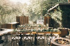 Lauren and Alec were married at Glen Oaks in Big Sur, CA. It was a beautiful and scenic small Big Sur wedding by the river and under the redwoods. When I Get Married, I Got Married, Big Sur Wedding, Glen Oaks, Table Settings, Table Decorations, Photography, Beautiful, Destinations