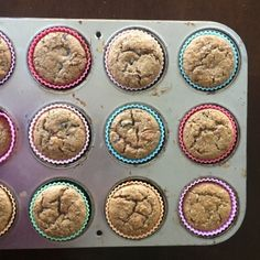 Healthy Carrot Muffins — Veggies & Virtue Healthy Carrot Muffins, Banana Carrot Muffins, Toddler Muffins, Baby Muffins, Toddler Friendly Meals, Exclusively Pumping, Plant Based Eating, Batch Cooking, Foods With Gluten