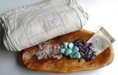 STRESS RELIEF KIT 24 stone crystal healer set by Crystal Grids