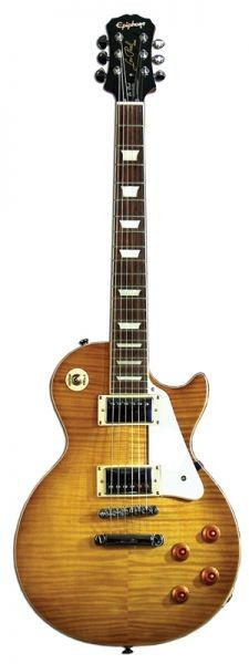 Epiphone Les Paul Standard Plus Top Pro, Honeyburst #epiphone #guitar