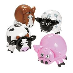 Inflatable Farm Characters - OrientalTrading.com