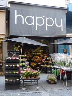 who doesn't love a shop called 'happy' :)