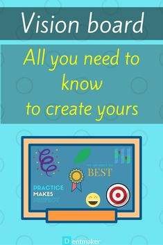 Vision board - all you need to know to create yours