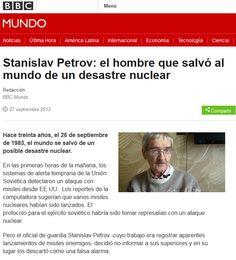 Stanislav Petrov, El Hombre Que Salvó Al Mundo De Una Guerra Nuclear.