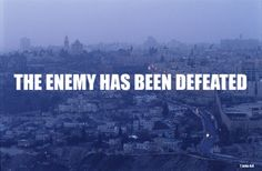The enemy has been DEFEATED | Claim it!