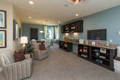 """M/I Homes of Orlando. The Corina with bonus. 4 bedrooms, 3.5 bath. The style and design show exactly how well this home can """"live"""" and actually elicits emotional responses, with feelings of comfort and at """"home"""". #POH2014 #OrlandoHomes #Orlando"""